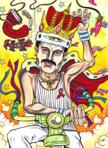 Freddy Mercury: November 24, 1991